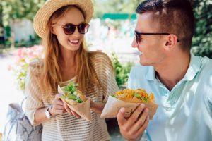 Aprende a comer en la calle sin engordar