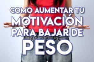 Cómo motivarse para bajar de peso