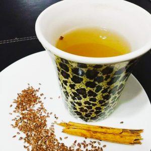 té de canela y chia para adelgazar